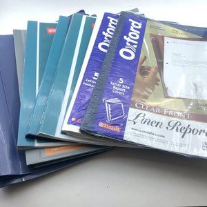 Office/School Supplies Presentation File Bundle
